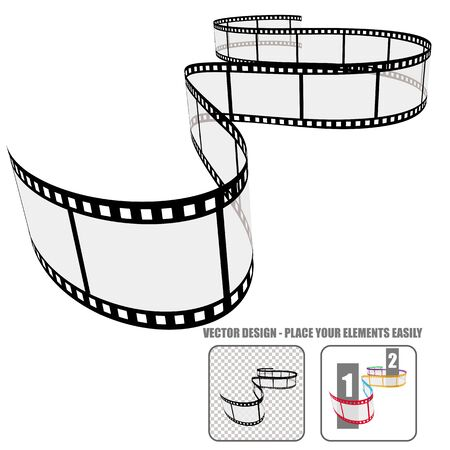 slap: Vector Film roll
