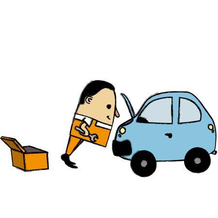 mechanic man: Mechanic man