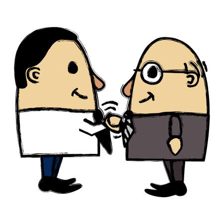 cordiality: Corporate handshake