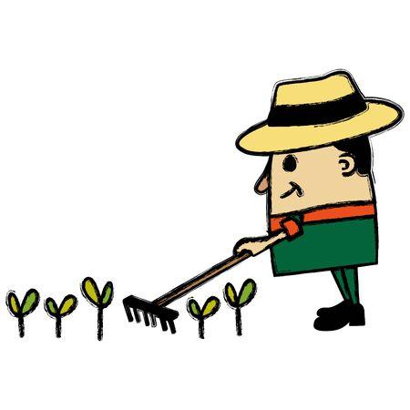 Jardinero hombre