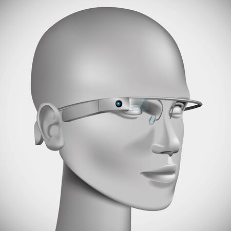 inmersion: Cabeza con gafas virtuales