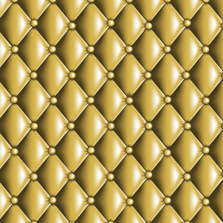 quilted fabric: Gold quilted texture