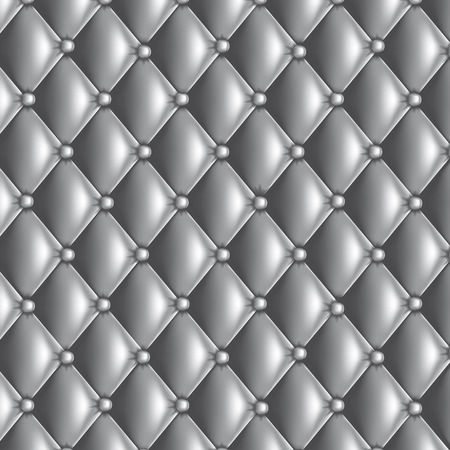 Silver quilted
