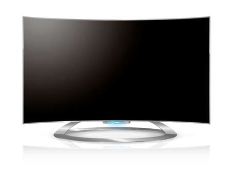 nueva generacion: Curved tv