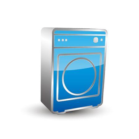 dryer: Clothes dryer 3D icon