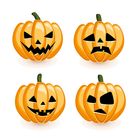 naughty or nice: Pumpkin set