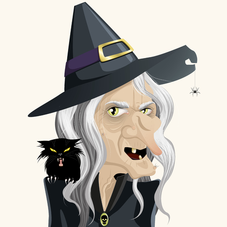 Ugly witch