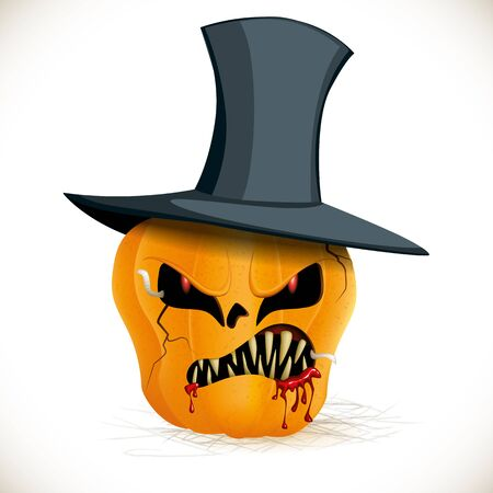 terrifying: Bad pumpkin