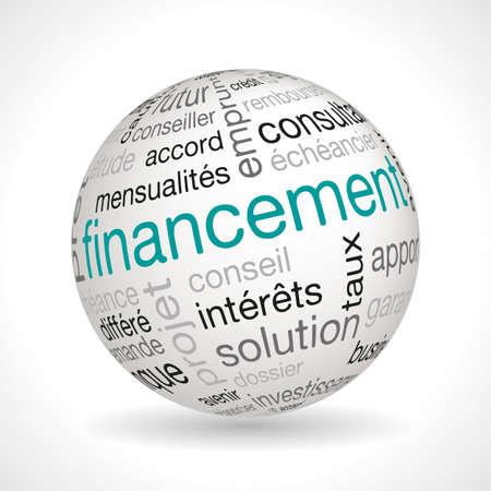 money sphere: French financing sphere