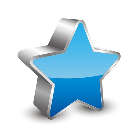 favored: 3D icon star