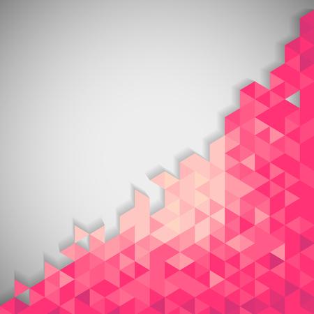 geometric background: Fondo geom?trico abstracto Vectores