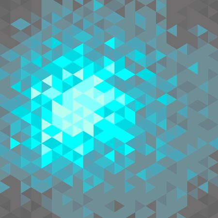 azul turqueza: Fondo geom?trico abstracto Vectores