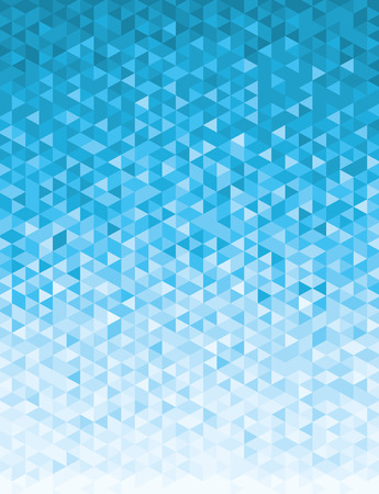 blue gradient: Abstract geometric background full vector