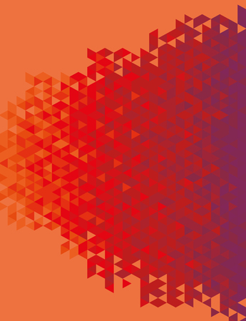 burgundy colour: Abstract geometric background full vector