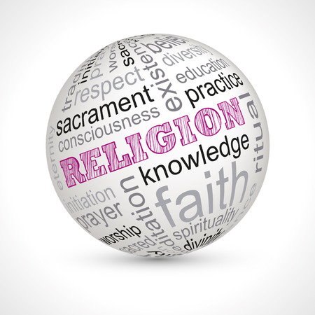 the sacrament: Religion theme sphere with keywords full