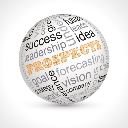 prospects: Prospects theme sphere with keywords full
