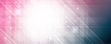 lightening: Abstract shining banner lightening colors full vector