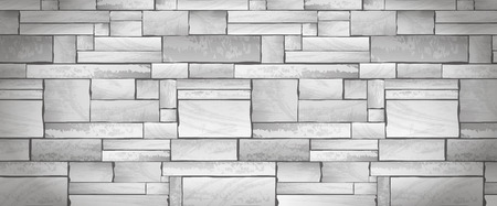 stonewall: Stone wall banner full vector texture background