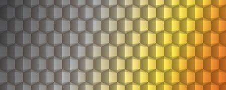 technologic: Abstract geometric texture banner design full vector Illustration