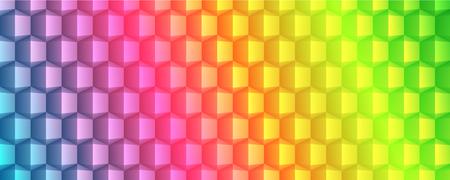 conception géométrique texture bannière Résumé complet vecteur