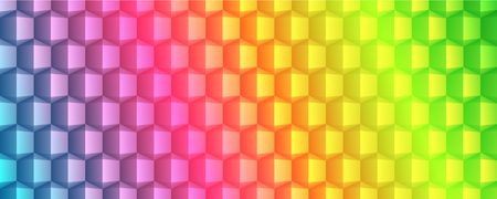 Abstract geometric texture banner design full vector Vettoriali
