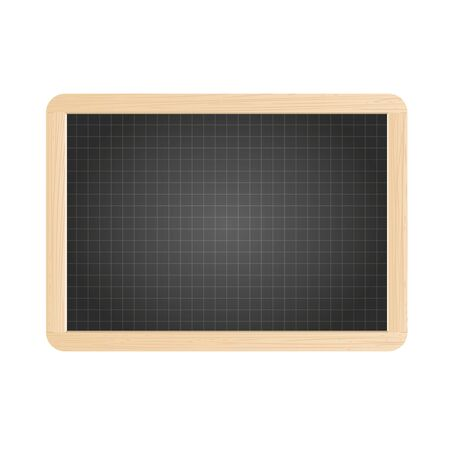 Vector school slate isolaed on a white background