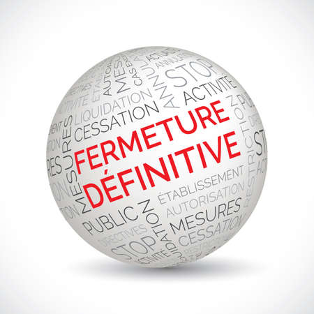 French permanent closure theme sphere