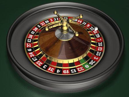 Roulette - 3d render Stock Photo - 650291