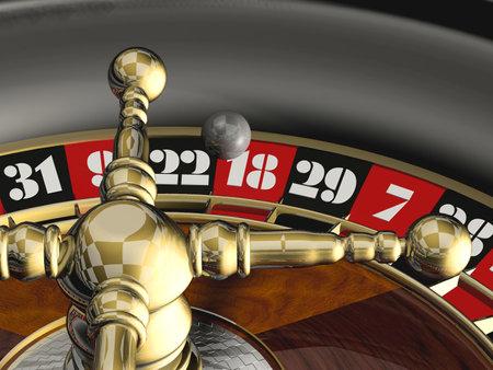 Roulette - 3d rendent