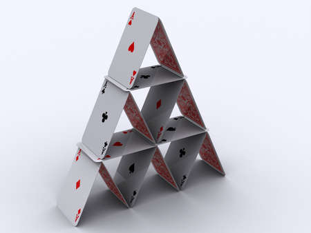 Konzeptionelle Pyramide Haus Asse - 3D-Rendering