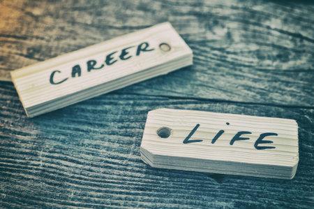 ラベル。人生やキャリア