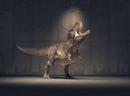 Dinosaur - triceratops (diceratops). This is a 3d render illustration