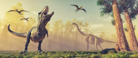 3d render dinosaur. This is a 3d render illustration.