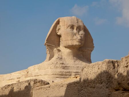 The Great Sphinx of Giza in Egypt