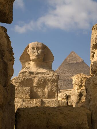 The Great Sphinx of Giza in Egypt photo