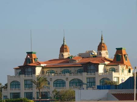 alexandria egypt: Small Montaza Palace in Alexandria  Egypt   Stock Photo