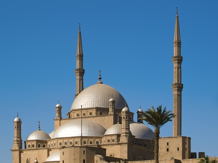 Mosque of Muhammad Ali in Cairo photo