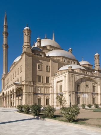 Mosque of Muhammad Ali in Cairo Stock Photo