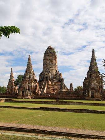 Wat Chaiwattanaram in Ayutthaya Stock Photo - 14085042