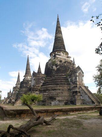 Wat Phra Sri Sanphet in Ayutthaya photo