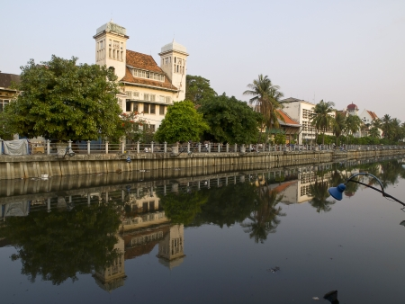 View of old Jakarta