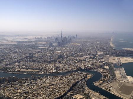 Birds view of Dubai (United Arab Emirates)