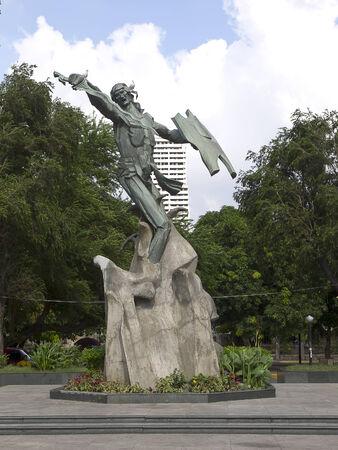 rajah: Monumento de Rajah Sulayman en Manila (Filipinas)