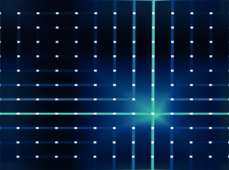 abstract illustration dark blue squares Reklamní fotografie - 140646872