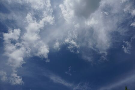 beautiful blue sky whith clouds