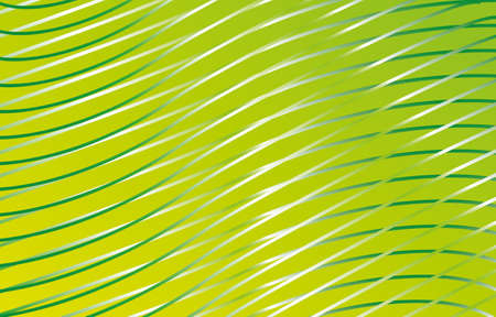 illustration of white and gray waves on a green background