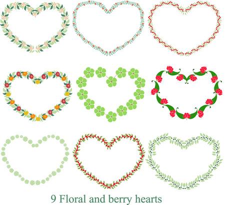 herbera: Floral Heart 20X20 Printable - Valentine Art Print, Floral Art, Home Decor, Printable Artwork, Floral Heart Artwork
