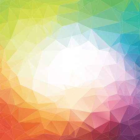 Abstract polygonal background, geometric background, Ilustracja