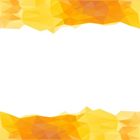 mahogany: Abstract polygonal background, vector illustration, geometric background, Illustration