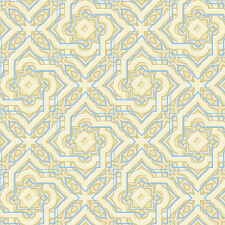 Arabic Beige Pattern Vector illustration